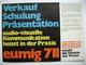 EUMIG 711 - Projektor - Technische Daten, Fotos, 6 Seiten - Proyectores De Cine