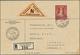Beleg 1936, 2 Fr. Fuerstin Auf R-NN(32.-)-Brief(unten Re. Etwas Fleckig) Von Triesenberg Nach Luzern (Michel: 140) - Francobolli