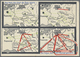 Beleg 1939, Das Netz Das Einst Der Jude Spann...Die Achse, Die Den Kampf Gewann.., Karte WHW-Sammlung Der Beamten Des Ga - Timbres