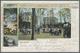 Beleg 1900, 5 Pf Germania Gruen, ''Bad Hamm Festplatz'', Bedarfsgebraucht Mit Sauberem Stpl. Hamm, 13.5.00, Nach Beyenbu - Timbres