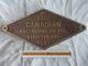 Plaque Information Chemin De Fer Noté N° 2388 Canadian Locomotive CO. LTD. Kingston ONT. 1947 - Railway