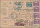 GA Tschechoslowakei: 1920 Komplette Paketkarte 10 H. (Hradschin-Ausgabe) Für Ein Wertpaket (2400 Kr.) V - Czechoslovakia