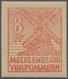 ** Sowjetische Zone - Mecklenburg-Vorpommern: 1946 8 Pf. Schwärzlichorange, Breitrandig Und Tadellos Po - Zona Sovietica