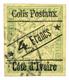 809 Cote D'Ivoire CP N°9 Obl. - Ivory Coast (1892-1944)