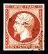 O N°17Ad, 80c Vermillonné. TB (signé Brun/Margues/certificat)   Qualité: O   Cote: 620 Euros - 1853-1860 Napoléon III