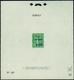 1557 N°247 Epr. D'essai De Surcharge Caisse D'amortissement N°28 - Francia