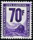 2702 N°17 70f Violet Qualité:** Cote: 400 - Parcel Post