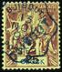 3361 N°2 25c Sur 2c Lilas-brun Sur Paille TB Qualité:OBL Cote: 300 - France (former Colonies & Protectorates)