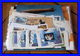 Départ 1 Euro Collection Timbres Blocs Espace Space Voiture Cars Aviation Plane Lot 6a THEMATIQUE Topics Stamps  Gold Or - Stamps