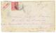 """155 POSTE PNEUMATIQUE : 1898 50c SAGE Obl. PARIS + """"PAR TUBE"""" Sur Enveloppe(pd) Avec Texte Pour PARIS. PRECURSEUR RARE.  - 1876-1878 Sage (Type I)"""