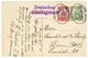 584 1912 5pf + 10pf Canc. DSP HAMBURG WESTAFRIKA LVI + DEUTSCHES SCHUTZGEBIET On Card From DUALA To GERMANY. Vvf. - Colony: Cameroun