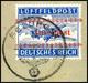 5882 Insel Kreta, Zulassungsmarke Gezähnt, Sauber Mit Tagesstempel Gestempelt Auf Briefstück, Saubere Bedarfserhaltung,  - Germany