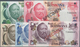 01111 Bangladesh: Complete Set Of 5 Banknotes 1 To 20 Pula ND(1976) SPECIMEN P. 1s-5s, All In Condition: U - Bangladesh