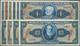 01155 Brazil / Brasilien: Set With 10 Specimens 1 Cruzeiro To 1000 Cruzeiros 1950's, P.150s-154s, 156s, 15 - Brésil
