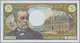 01501 France / Frankreich: 5 Francs 1970 P. 146b, Only One Center Fold And 3 Pinholes, Otherwise Crisp Ori - France