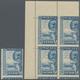05943 Malaiische Staaten - Kedah: 1959, Sultan Abdum Halim Shah 20c. Blue 'Fishing Prau' Block Of Four Fro - Kedah