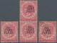 06496 Malaiische Staaten - Perak: 1889, Straits Settlements QV 2c. Bright Rose With Wmk. Crown CA With Bla - Perak