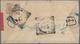 06569 Malaiische Staaten - Perak: 1908, Redband Envelope Bearing 3 C Tiger On Back Tied By GOPENG Postmark - Perak