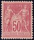 ** No 98, Rose, Rose, Très Frais Et Centré. - TB - 1876-1878 Sage (Type I)