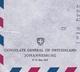 Lettre Johannesburg 1968 Afrique Du Sud Consulate General Of Switzerland Suisse Schweiz South Africa - Afrique Du Sud (1961-...)