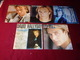 LOT  15  DISQUES  VINYLES OCCASION EN  45 TOURS  DE JOHNNY HALLYDAY  ET DAVID HALLYDAY - Collections Complètes