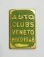 Piastrina Di Iscrizione Auto Clubs Veneto ( MOTO - 1948 ) - Moto