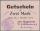 Deutschland - Notgeld - Ehemalige Ostgebiete: Oberschlesien, Notgeld Von 1914, Sammlung Von 66 Versc - Allemagne