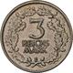 Weimarer Republik: 3 Reichsmark 1931 E, Kursmünze, Jaeger 349, Kratzer, Sehr Schön. - [ 3] 1918-1933 : Republique De Weimar