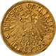 Deutsch-Ostafrika: 15 Rupien 1916 T, Tabora, 7,07 G. 900/1000 Gold, Geprägt Mit Gold Aus Der Sekenke - East Germany Africa