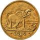 Deutsch-Ostafrika: 15 Rupien 1916 T, Tabora, 7,07 G. 900/1000 Gold, Geprägt Mit Gold Aus Der Sekenke - Deutsch-Ostafrika
