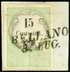 F BELLANO (SI) P.8 Su Fiscale Da C.15 (7), Firma L.Gazzi. - Lombardo-Veneto