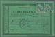12216 Martinique: 1884, French Colonies General Issue: 5 C Green Horizontal Pair, Multiple Franking On Off - Martinique (1886-1947)