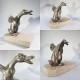 ~ STATUE CANARD - Animal Gédéon Sculpture - Autres