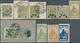 27732 Polen - Bestellpostanstalten: 1915/1918, Warsaw/Zarki/Przedborz/Luboml, Lot Of 44 Stamps (see Photo) - Poland