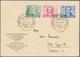 20549 Berlin: 1949, Goethe-Satz, Amtlicher Ersttagsbrief Mit ESST BERLIN-CHARLOTTENBURG 9, 29.7.49, Nach E - [5] Berlin