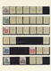 32773 Bundesrepublik Deutschland: 1964/1965, Postfrische Spezialsammung Der Dauerserie Kleine Bauwerke, Sa - Unclassified