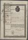 32965 Varia (im Briefmarkenkatalog): 1840er Ff.: Mehrere Hundert Aktien, Wertpapiere, Anleihen, Obligation - Autres Collections