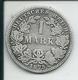 1  MARK  ARGENT DE  1875 - [ 2] 1871-1918: Deutsches Kaiserreich