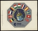 Lot De 2 Autocollants METEOSAT  & GEOS Project / European Space Agency / ESA - GPS/Avionics