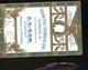 JARNAC GRANDE FINE DE CHAMPAGNE 1848 NAPOLEON III   CARTE RARE OR - Jarnac