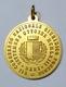 MEDAGLIA - BARI VII° CONGRESSO NAZIONALE GIURIDICO FORENSE ( 1968 - Bronzo Dorato - 33mm) Opus G. Prayer - Professionali/Di Società