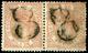 145 Ed. 0 96 Pareja Horizontal - 1850-68 Kingdom: Isabella II