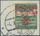 00030 Sudetenland - Karlsbad: Flugpostmarke 50 H Grün, Mit DUNKELROSA Statt Dunkelbläulichviolettem Handst - Sudetenland