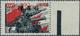 01400 Dt. Besetzung II WK - Ukraine - Alexanderstadt: 1942, 10 Rbl. Auf 1 Rbl. Schwarz/dunkelrot, Aufdruck - Bezetting 1938-45