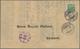 """01516 Island: 1897, """"3"""" In Rot Und KOPFSTEHEND """"prir"""" Kleinerer Lokalaufdruck In Schwarz Auf 5 A Grün, Gez - Islanda"""