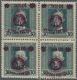 "01557 Polen: ""1918/1919: Second Lublin Issue 10 Hal On 30 Heller Green Grey With Inverted Violett Overprin - 1919-1939 Republik"