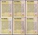 6 Cartes Panini Football 1994 Cards Official. Trésor Six Tigana Revelli  Piantoni Michel - Other Collections