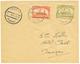 843 MAROC POSTES LOCALES : 1898 20c(n°115) + 40c(n°117) Obl. TANGER Sur Enveloppe. TTB. - Maroc (1891-1956)