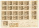 1114 1902 3pf(x25) Canc. SAFI On REGISTERED Envelope To GERMANY. Vf. - Bureau: Maroc