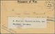 """Beleg 1919, Zensur-Kriegsgefangenenbrief Aus Dem Lager Tura Bei Cairo Nach Dar-es-Salam Mit Zettel """"weiter Nach Würzburg - Francobolli"""